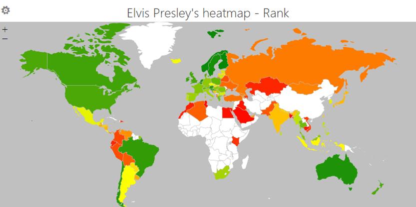 Elvis Heatmap Rank