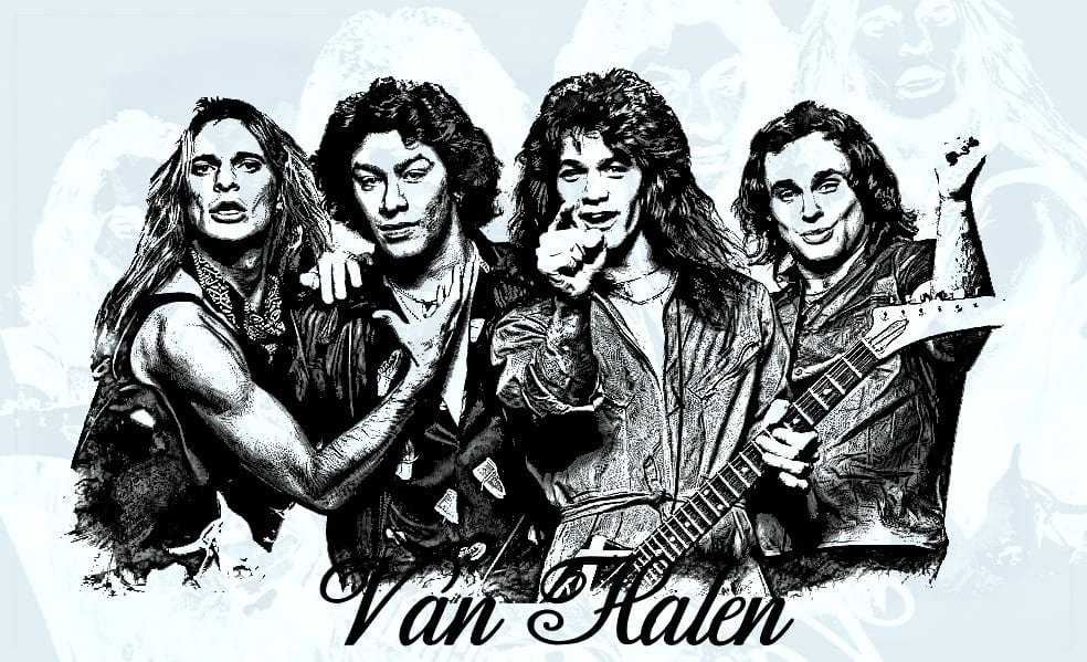 Van Halen streaming masters