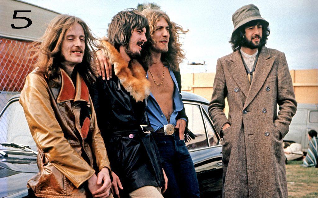Led Zeppelin - streaming statistics